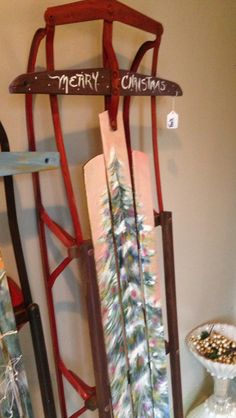 1000 Images About Painted Sleds On Pinterest Sled