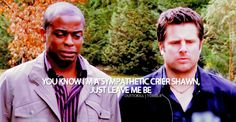 Gus is a sympathetic crier. #Psych