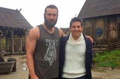 ET Canada | Blog - Clive Standen Shows Rick Campanelli A 'Vikings' Sized Workout