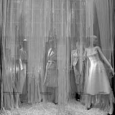Galeries Lafayette & Bergdorf Goodman windows, Paris, New York City via Retail Design Blog #inspiration #fashion #shopwindows #visualmerchandising