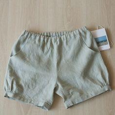 Image of Paggio ** pantaloncini lino