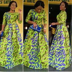 Robe d\\u0027Ankara par DEAFRICANSHOP sur Etsy Plus · AfricainsPagne Model  Robe Wax, Modele