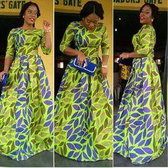 Robe d\\u0027Ankara par DEAFRICANSHOP sur Etsy Plus · AfricainsPagne Model  Robe Wax, Modele