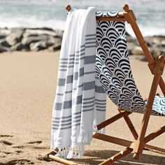 grey towel & chair