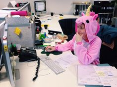 Just another Friday in the office! #HappyUnicornFriday #EventProfs