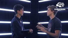 5SOS Face To Face - Calum Vs. Ashton - Do You Like Scary Movies?