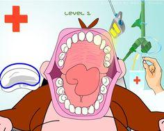 Memoriza a dónde tiene las caries el mono y quétaselas!  http://mundobanana.com/Mono-dentista-10007447.html
