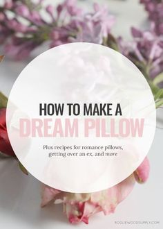 Pairing dream pillows with crystals can change the way you sleep | Rogue Wood Supply