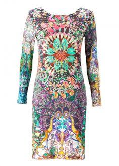printed dress holyris