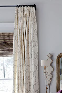 Love these curtains. http://www.cedarhillfarmhouse.com/2015/03/add-instant-elegance-curtains.html