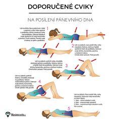 Kegelovy cviky Gaines, Pelvic Floor, Healthy Lifestyle Tips, Image Title, Yoga Fitness, Pilates, Fitness Inspiration, Detox, Workout