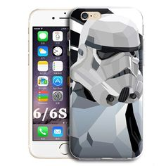 FOR IPHONE 6 6S MOBILE PHONE BACK COVER CASE R2D2 STAR WARS COFFEE STORMTROOPER