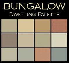 Color in Space Bungalow Dwelling Palette card (not a paint line):  colorinspace.com