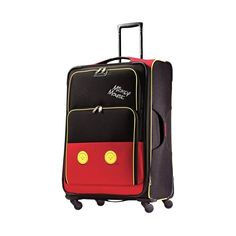 """American Tourister - Disney 34.5"""" Spinner - Mickey mouse pants"""