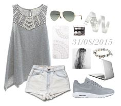 """""""31/08/2015"""" by apcquintela ❤ liked on Polyvore featuring Copper Key, NIKE, Ray-Ban, Monika Strigel, Swatch and Pandora"""