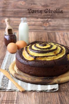 La Torta Girella è un'insolita e fantasiosa variante per un a torta  al c ac ao. E'  una di que i  dolci  semplici, con tutto il sapore d...
