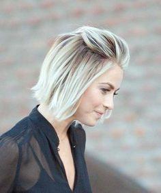 Short Blonde Soft Wavy Hairstyle Short-Blond-Straight