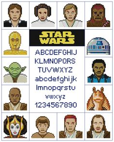 Star Wars Sampler Pattern by KeenahsCrossStitch