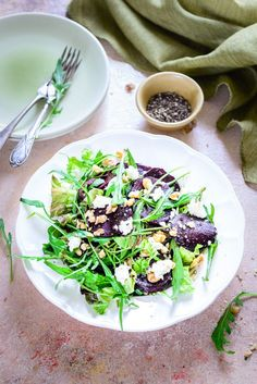 Made using Balsamic Vinegar, extra virgin olive oil, walnuts and feta cheese, Balsamic Beet Salad is surely a treat which cannot be missed. #Vegetarian #Healthy #Salad