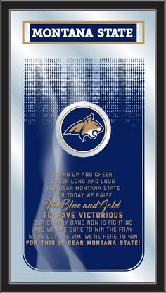 Montana State Bobcats Fight Song Mirror
