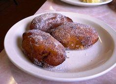 Empanadas de Leche, an El Salvador dessert pastry.