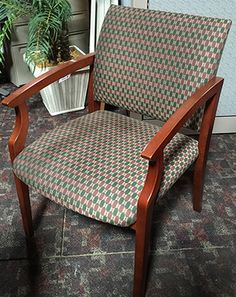 Are you looking for an amazing deal on a set of 8 Guest Chairs?  ONLY 8 left in stock! ON SALE Used Guest Chairs:  Cherry Wood Arms & Legs,  Pattern Fabric Seat & Back! Sale price is only $175/each! Stop by to pick them up or call us to reserve them today! 727-561-0325 http://furniturebygeorge.com/monthly-specials