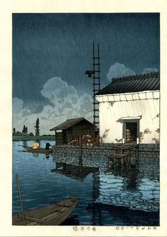 Hasui Kawase; such mastery of the medium.