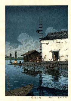Hasui Kawase; such mastery of the medium.