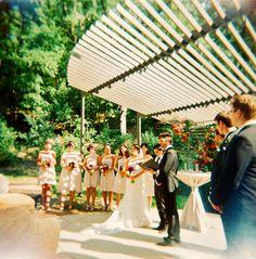 Austin, TX: Umlauf Sculpture Garden Wedding