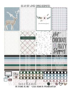 Reformatted Free Printable Big Happy Planner Soft Winter Sampler from myplannerenvy.com