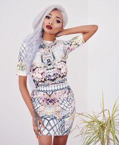 "Nyané Lebajoa on Instagram: ""This @shop_aeon Twopiece set is so pretty, it's got me prepping my summer wardrobe! """