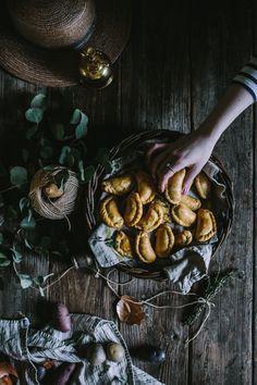 Root Vegetable & Feta Empanadas by @evakosmasflores