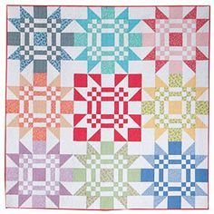 Now available at connectingthreads.com Red Letter Day Quilt Pattern Download