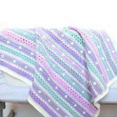 Bella Coco - Block Stripe Blanket Crochet Pattern – Bella Coco Store