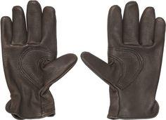 leather garden gloves; Gardenista