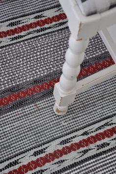 Carpet Mat, Carpet Runner, Rugs On Carpet, Loom Knitting Patterns, Weaving Patterns, Knitting Tutorials, Free Knitting, Stitch Patterns, Jute Rug