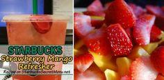 Strawberry Mango Refresher   Starbucks Secret Menu