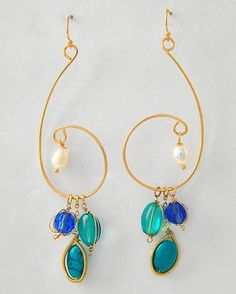 Sabine Chandelier Earrings | Emma Stine Limited $38