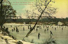 Wintertime in Indiana