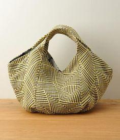 Tape リバーシブルトートバッグ/M(B・グレー) TrentaSei |ナチュラル服や雑貨のファッション通販サイト ナチュラン | I love the shape