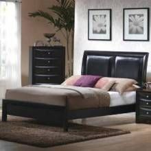 Briana Collection Bed Set - Black  (BRAND NEW!!!!!!) *** $368.00 ***  Contact Jay Kemp for additional information and questions regarding warranty.  Like us on Facebook for specials that we have going on and for additional information on products check us out at http://www.knoxfamilyfurniture.net