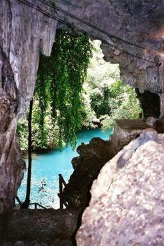Adrentro de las Cuevas de Lanquin. <3.12