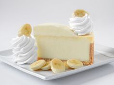 Fresh Banana Cream Cheesecake - Banana Cream