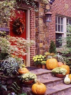Beautiful fall decorations!