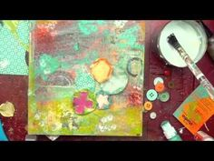featuring our new mixed media monthly kit subscription.. this video is me making a fun project using all the pieces! you can find out more about this new mixed media monthly kit on our store website www.scarletlime.com (kits page).  and to see more tutorials. visit my blog at   www.christytomlinson.typepad.com