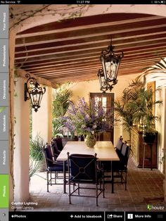 Awesome covered patio