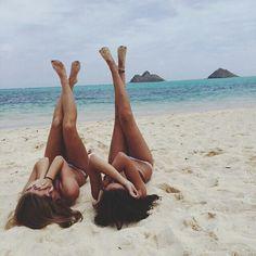 accessories, beach, best friends, bikini, chic, cute, fashion ...