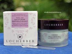 Locherber 24 Stunden Tages- und Nachtcreme, spezialpflege für die empfindliche gerötete Haut.