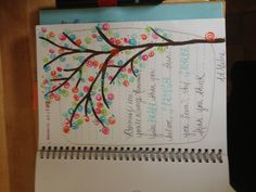 Gorgeous tree for a Smash book page