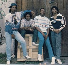 Early Days - NWA. I still have the album in a milk crate.